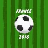 Euro-Frankreich-Fußball 2016 Stockbilder