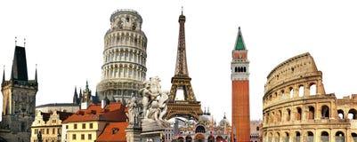 European landmarks Stock Photos
