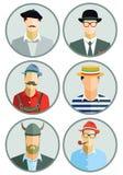 European men Royalty Free Stock Photography