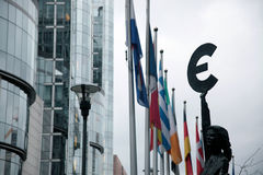 European Parliament Royalty Free Stock Images
