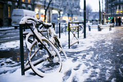 European Winter Royalty Free Stock Images