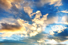 Evening sky Stock Images