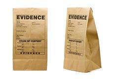 Evidence bag Stock Photo