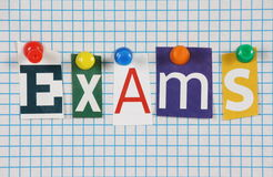 Exams Royalty Free Stock Photography