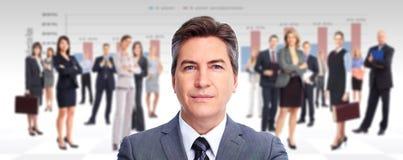 Executive businessman. Royalty Free Stock Photography