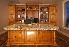Executive home office Royalty Free Stock Photos