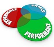 Experience Skills Performance Venn Diagram Employee Review