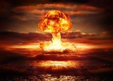 Explosieatoombom Royalty-vrije Stock Foto