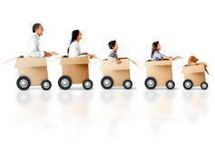 Express delivery Royalty Free Stock Images