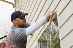 Exterior House Painting Royalty Free Stock Photos