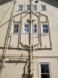 Exterior plumbing Stock Photography