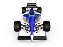 F1 blue racing car vol 2 Royalty Free Stock Photography