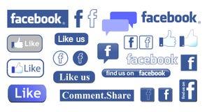 Facebook Immagini Stock