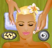 Facial treatment Royalty Free Stock Photos