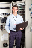 Factory technician Stock Images