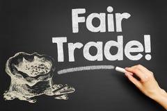 Fair Trade! Stock Image