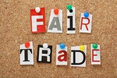 Fair Trade Royalty Free Stock Image
