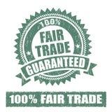 Fair Trade Rubber Stamp Stock Photos