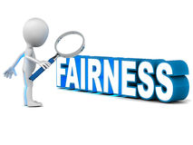 Fairness Royalty Free Stock Photos
