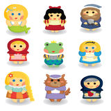 Fairytale characters Stock Image