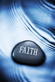 Faith Water Background Stock Images