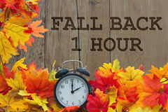 Fall Time Change Stock Photography