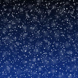 Falling snow Royalty Free Stock Photos