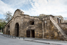 Famagusta Gate historical building landmark, Nicosia Cyprus. Royalty Free Stock Photography