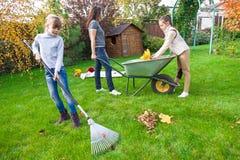 Family gardening Royalty Free Stock Image