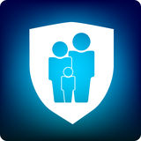 Family protection Stock Images