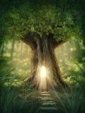 Fantasy tree house Stock Image