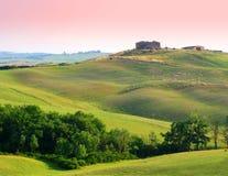 Farm in Tuscany Stock Photos
