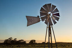 Farm Windmill Royalty Free Stock Images