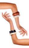 Isolated Accessories Bracelets Stock Image