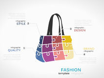 Fashion bag Royalty Free Stock Photo
