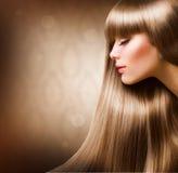 Fashion Blond Girl Stock Photo