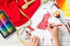 Fashion designer Royalty Free Stock Images