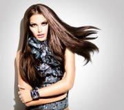 Fashion Model Girl Stock Image