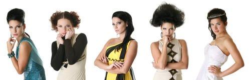 Fashion portraits Royalty Free Stock Image