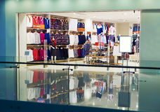 Fashion shop clothing clothes store front Stock Photo