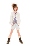Fashionable girl child Royalty Free Stock Photography