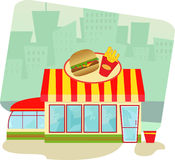 Fast Food Restaurant Stock Photos