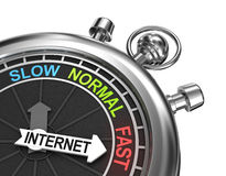 Fast internet concept Stock Photography