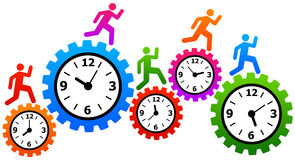 Fast time Royalty Free Stock Photos