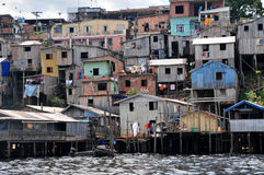 Favela Foto de archivo libre de regalías