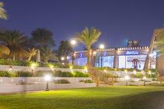 Februar-Nacht im Sharm el Sheikh Lizenzfreie Stockbilder
