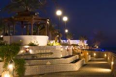 Februar-Nacht im Sharm el Sheikh Stockbilder