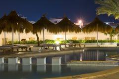 Februar-Nacht im Sharm el Sheikh Lizenzfreie Stockfotos