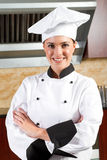 Female chef Royalty Free Stock Photography