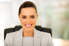 Female corporate worker Royalty Free Stock Image